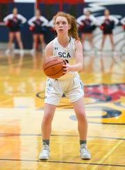Scottsdale Christian basketball standout Kylie Hearn.