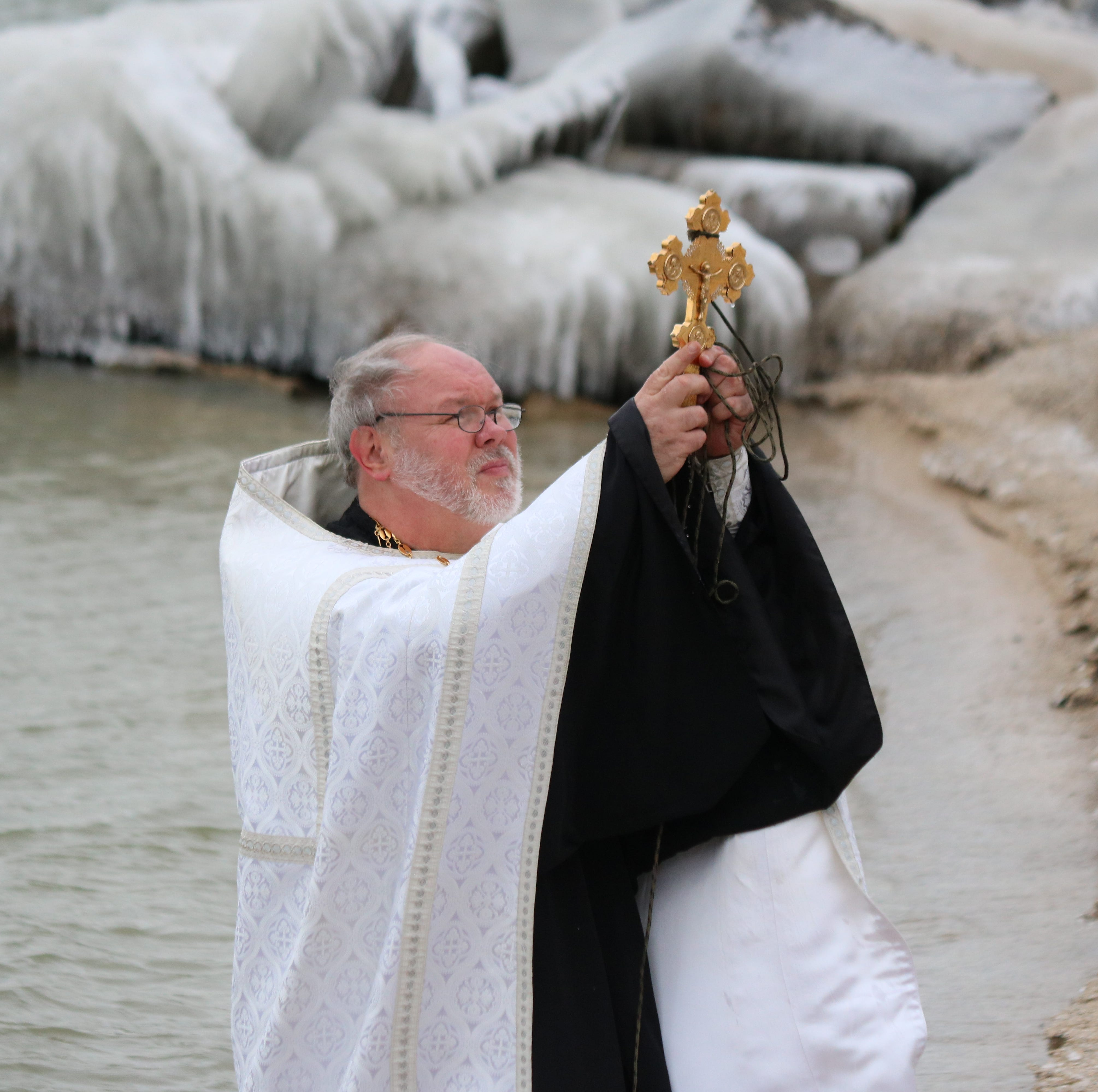 Holy Assumption Orthodox Church hosts Blessing of Lake Erie in Marblehead