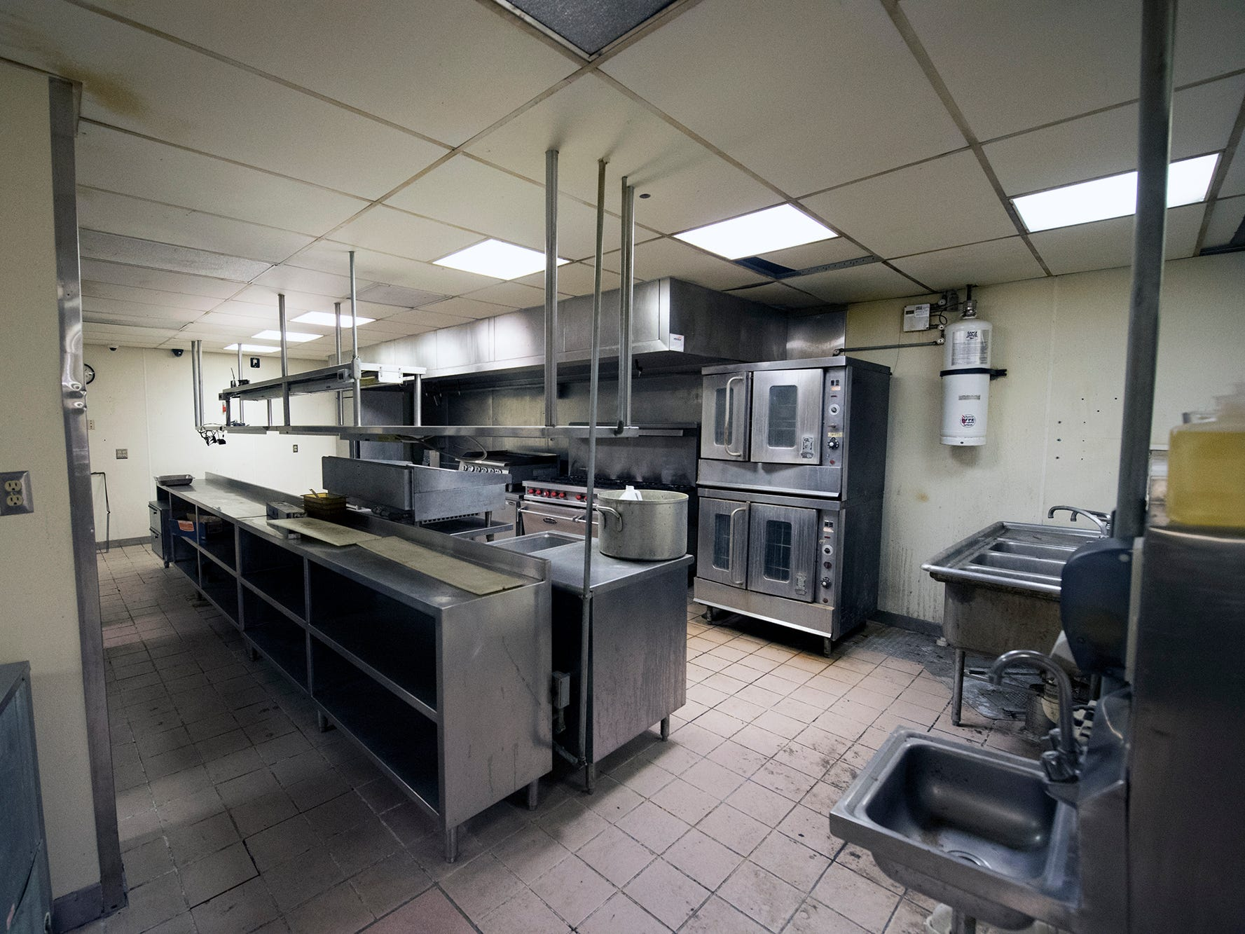 A commercial kitchen on the first floor of the former Cobblestones building Wednesday January, 2019.