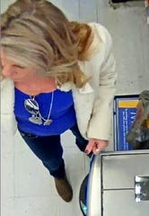Springettsbury Township Police are looking to identify this Walmart theft suspect.