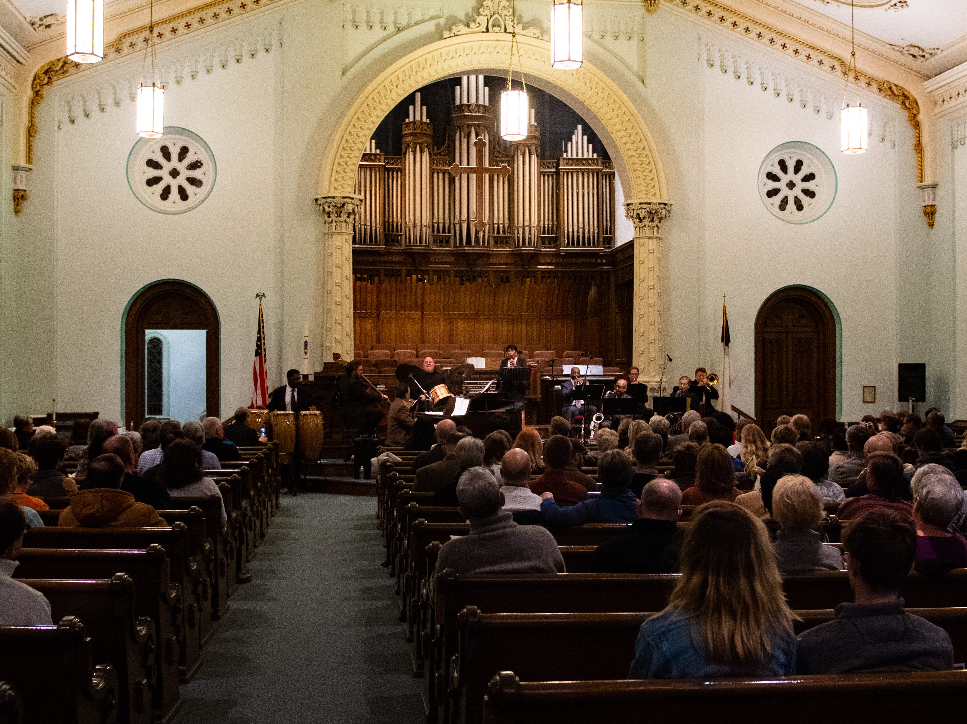 On January 12, 2019, the First Presbyterian Church in York hosted the 21st annual Jazz Vespers concert in honor of Rev. Martin Luther King Jr.