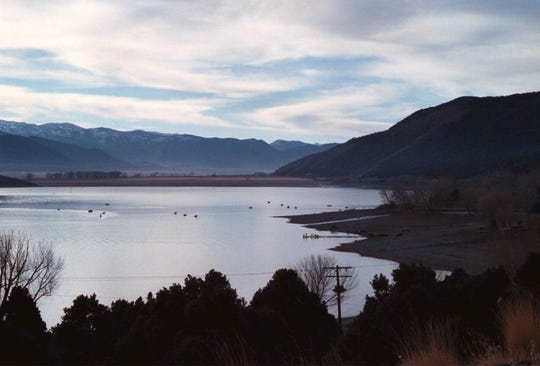 Topaz Lake in Douglas County.