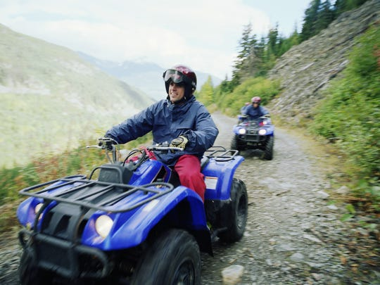 An ATV accident near Gardnerville left one person dead Saturday.
