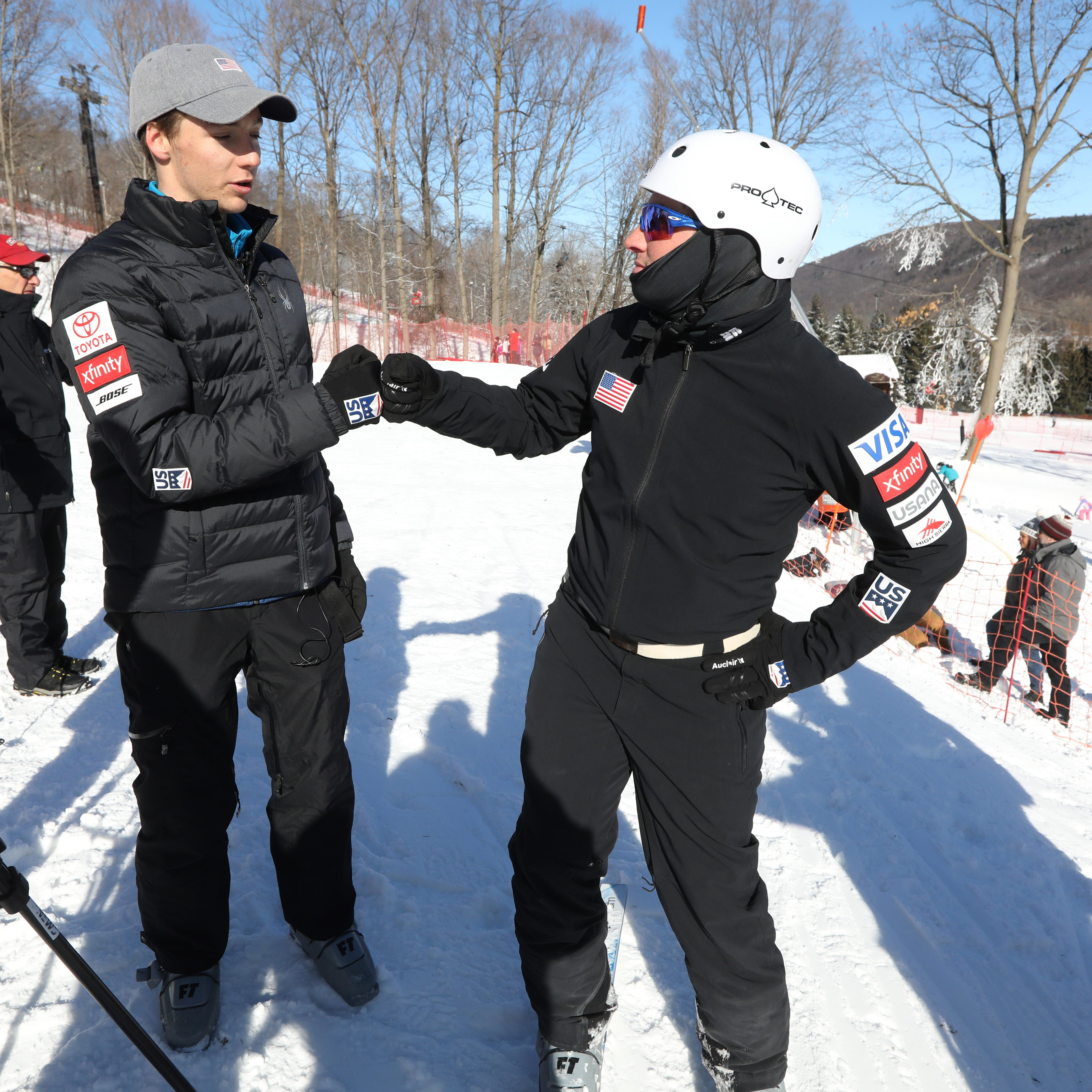 Skier Chris Lillis makes an emotional return as Bristol Mountain honors his late brother