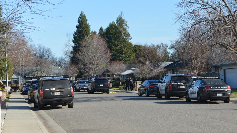 One person died and 12 others were hospitalized in a mass overdose in Chico on Saturday. (Kayla Fitzgerald -- Enterprise-Record)