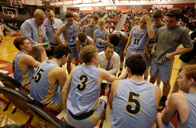 Sheboygan North's Eric Worth doesn't think FRCC leading Green Bay Southwest can possibly hit nearly 70 percent of its shots again in Tuesday's rematch.