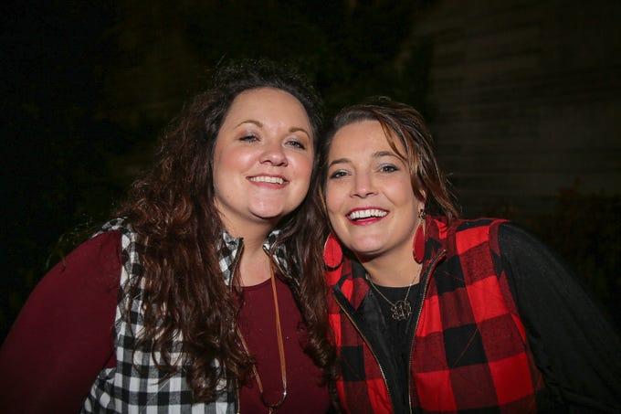 Carissa Ennis and Bonnie Resz
