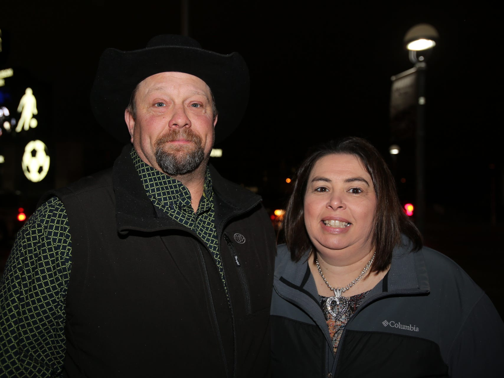 Shane and Tracy Staples
