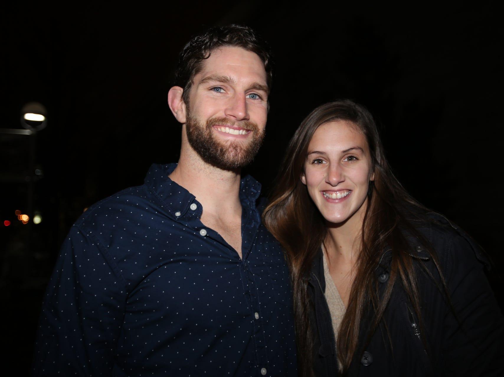 Brett Bader and Callie Maynard