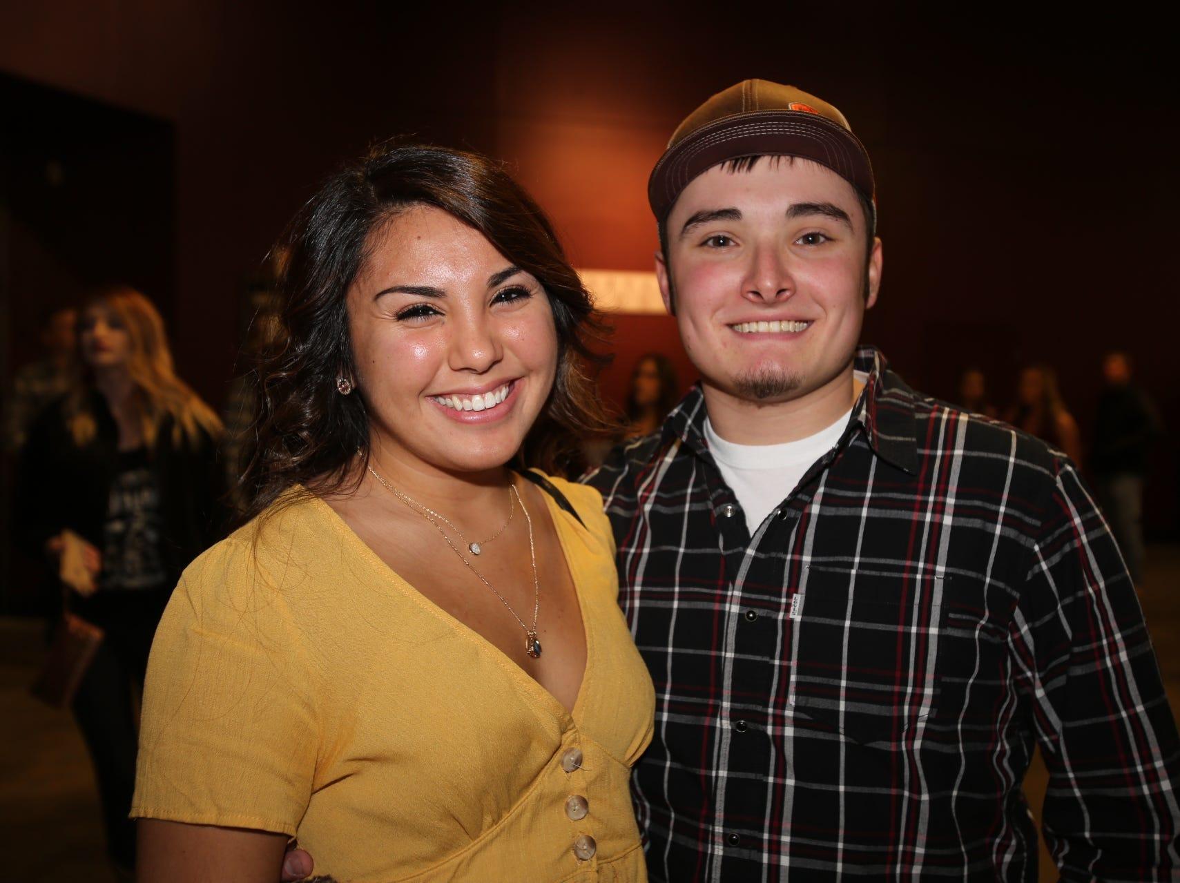 Asya Hernandez and Clayton Eutsler