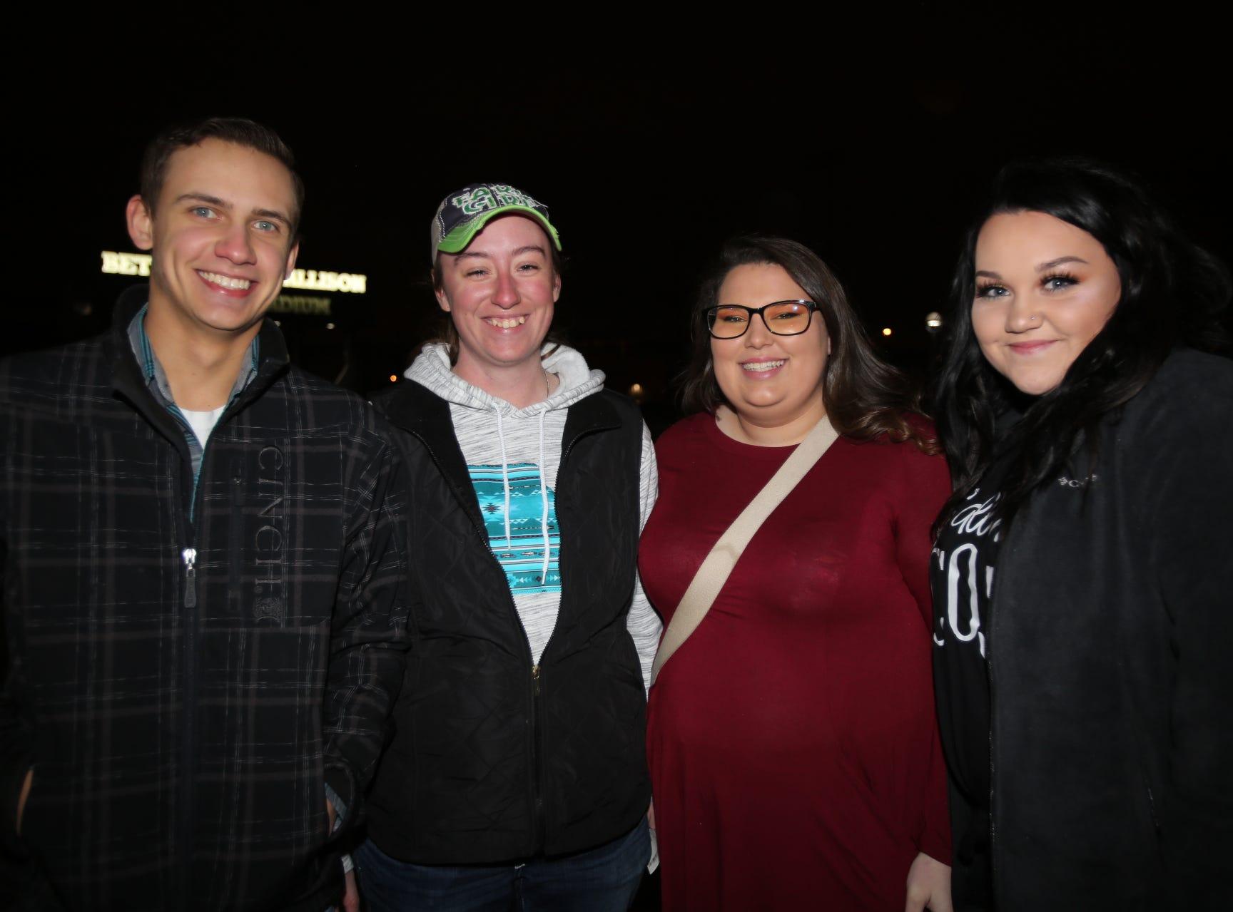 Dillon Kepley, Jayme Snodgrass, Tory Horne, and Bailey Powell