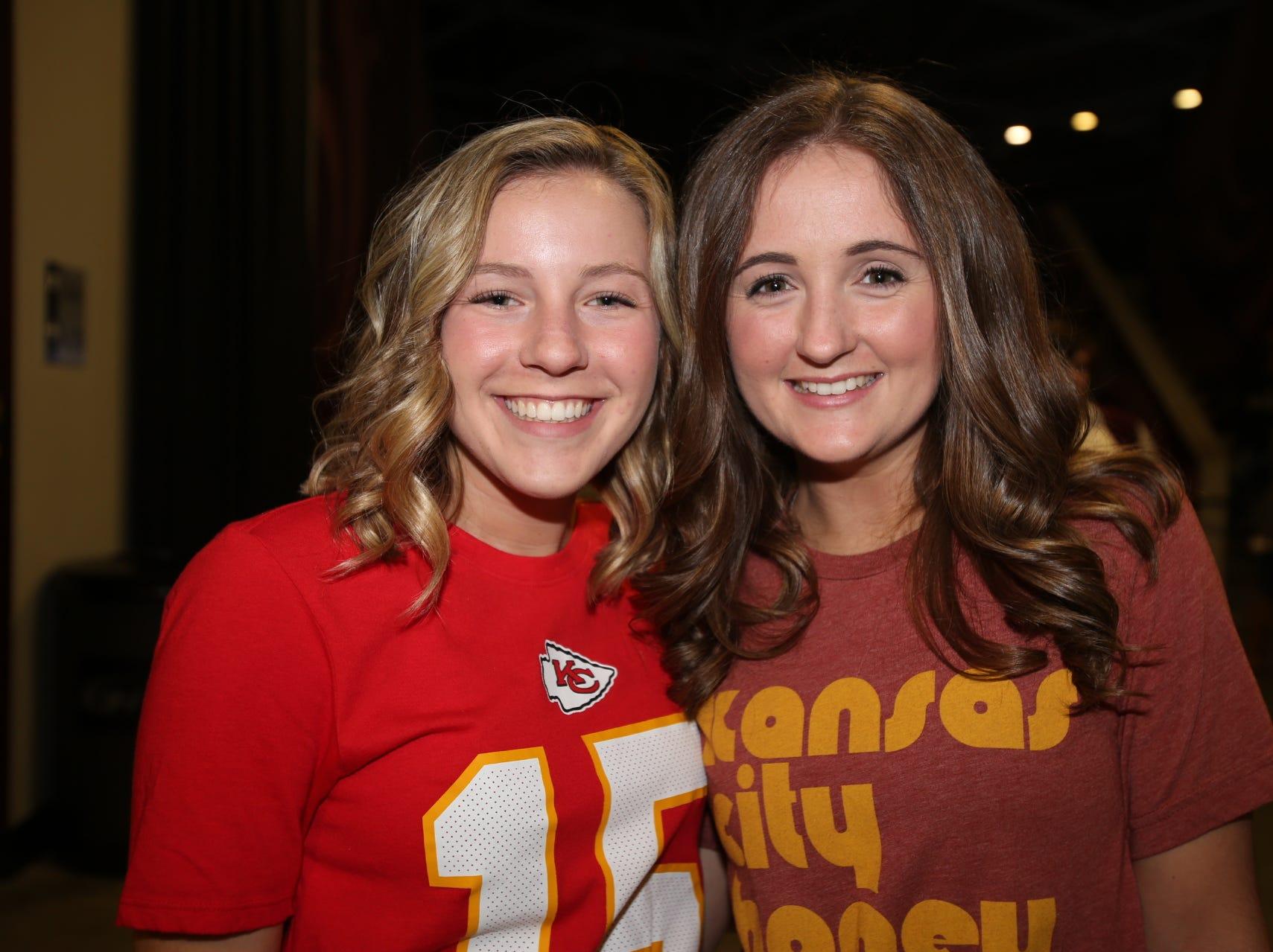 Brecklyn Mainard and Maddie Smith