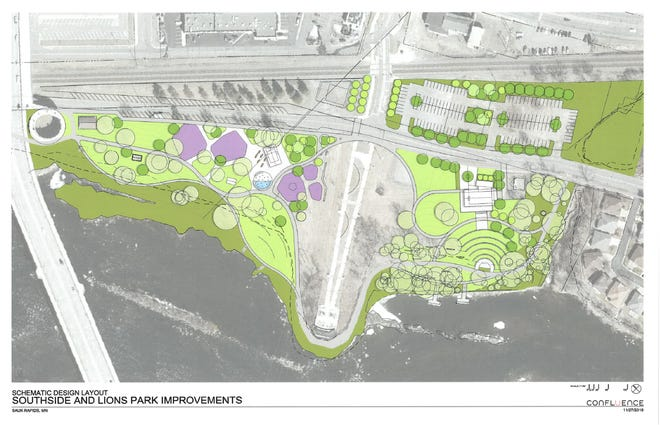 "New ""master plan"" for changes to Southside and Lions Parks to be discussed at Monday's city council meeting."