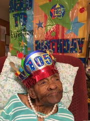 """On Nov. 10, 59 of 73 descendants of Irene Allen gathered for a """"First Legacy Reunion"""" and celebration of  her 105th birthday, which was Sept. 26"""