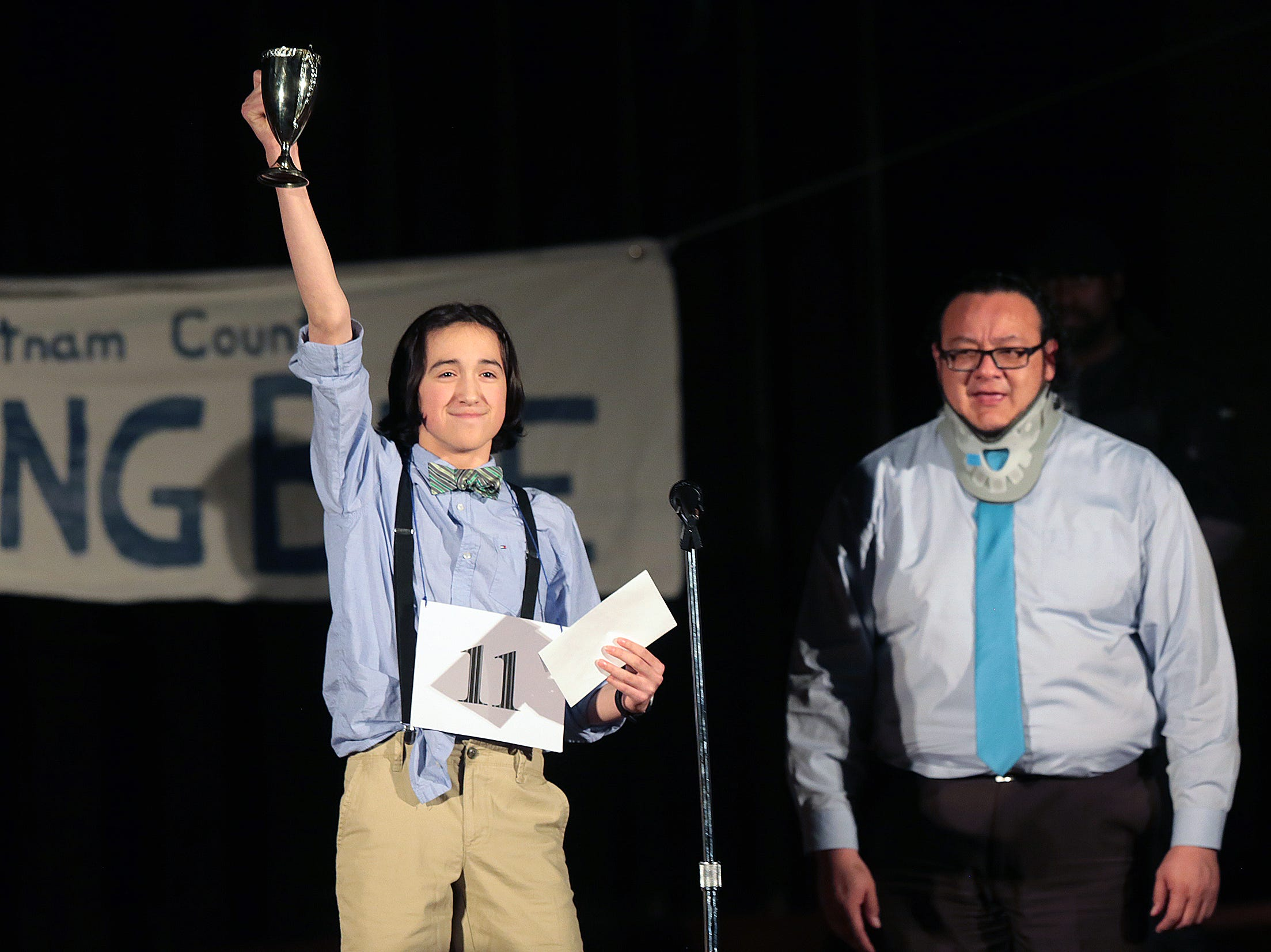 Kids-N-Co stages their production of The 25th Annual Putnam County Spelling Bee Saturday night at First Presbyterian Church. The comedy musical runs weekends through January 27th. For more information on times and ticket prices visit their Facebook page at www.facebook.com/ElPasoKIDSNCO