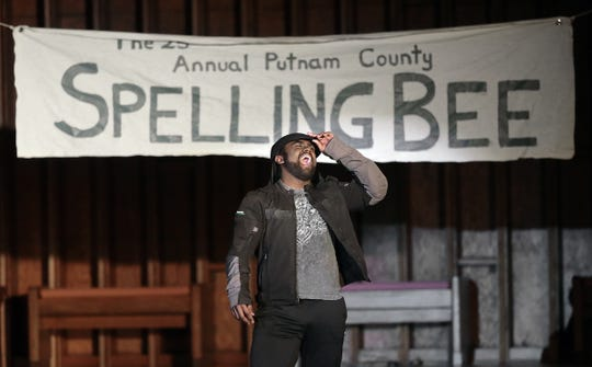 "Kids-N-Co stages its production of ""The 25th Annual Putnam County Spelling Bee"" on Saturday night at First Presbyterian Church. The comedy musical runs weekends through Jan. 27. For more information, visit the Facebook page at facebook.com/ElPasoKIDSNCO"
