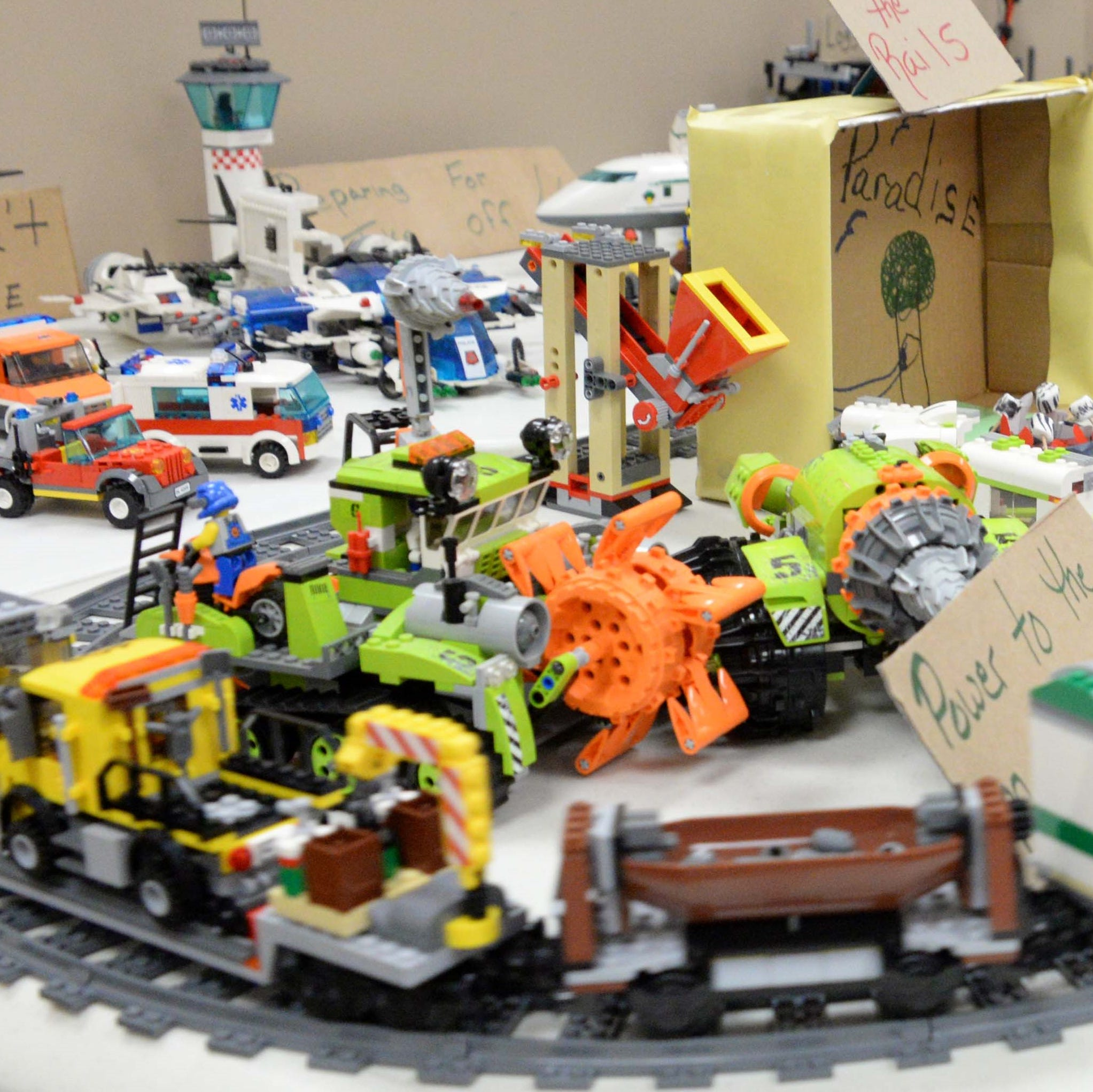 Neighbors briefs: 4-H LEGO fun, Cumberland County Legends and Families to College Initiative