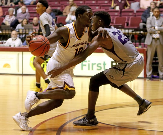 Midwestern State's Terrell Wilson became the first true freshman to start for the program since 2002-03 and is among the team's leaders in assists and steals.