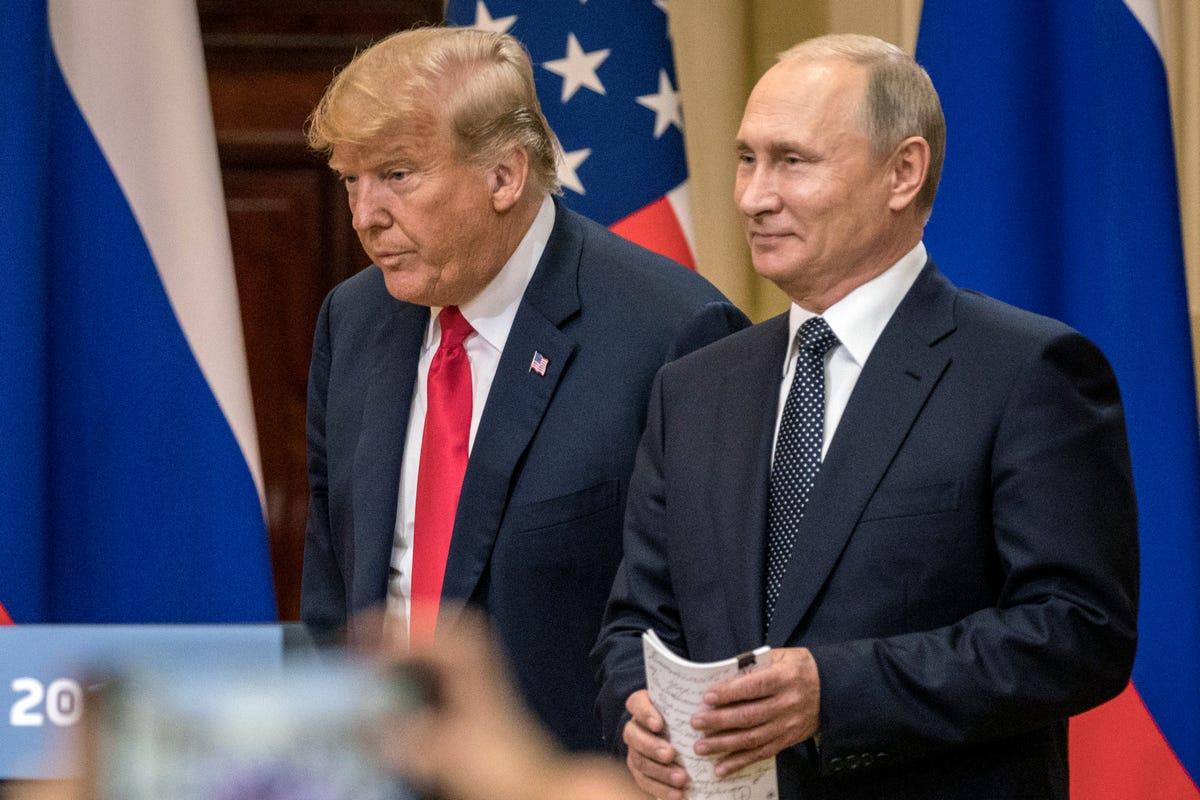 Trump concealed details of meetings with Vladimir Putin, report says