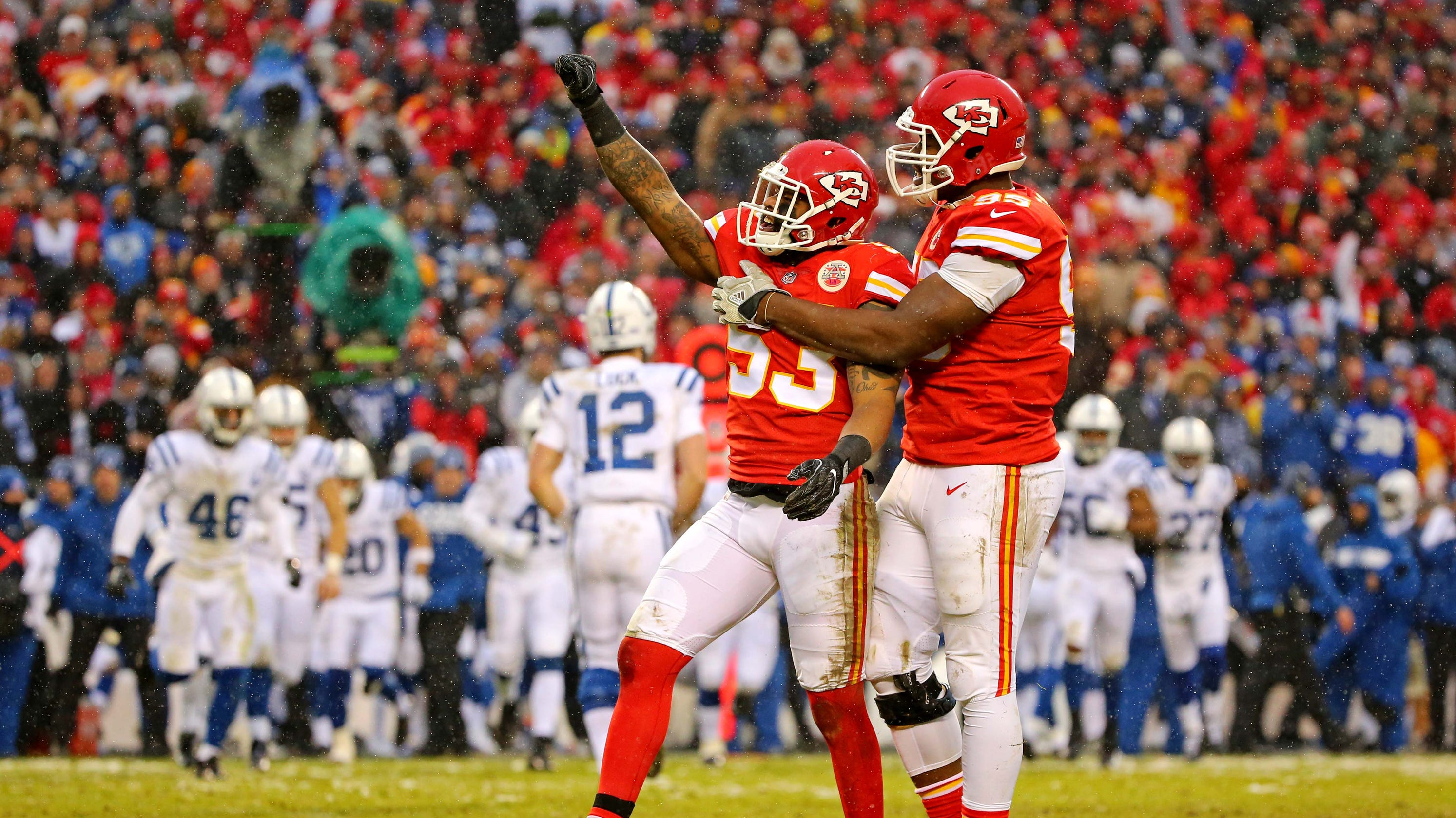 2d3c249d4 NFL playoffs  Chiefs freeze out Colts to advance to AFC title game