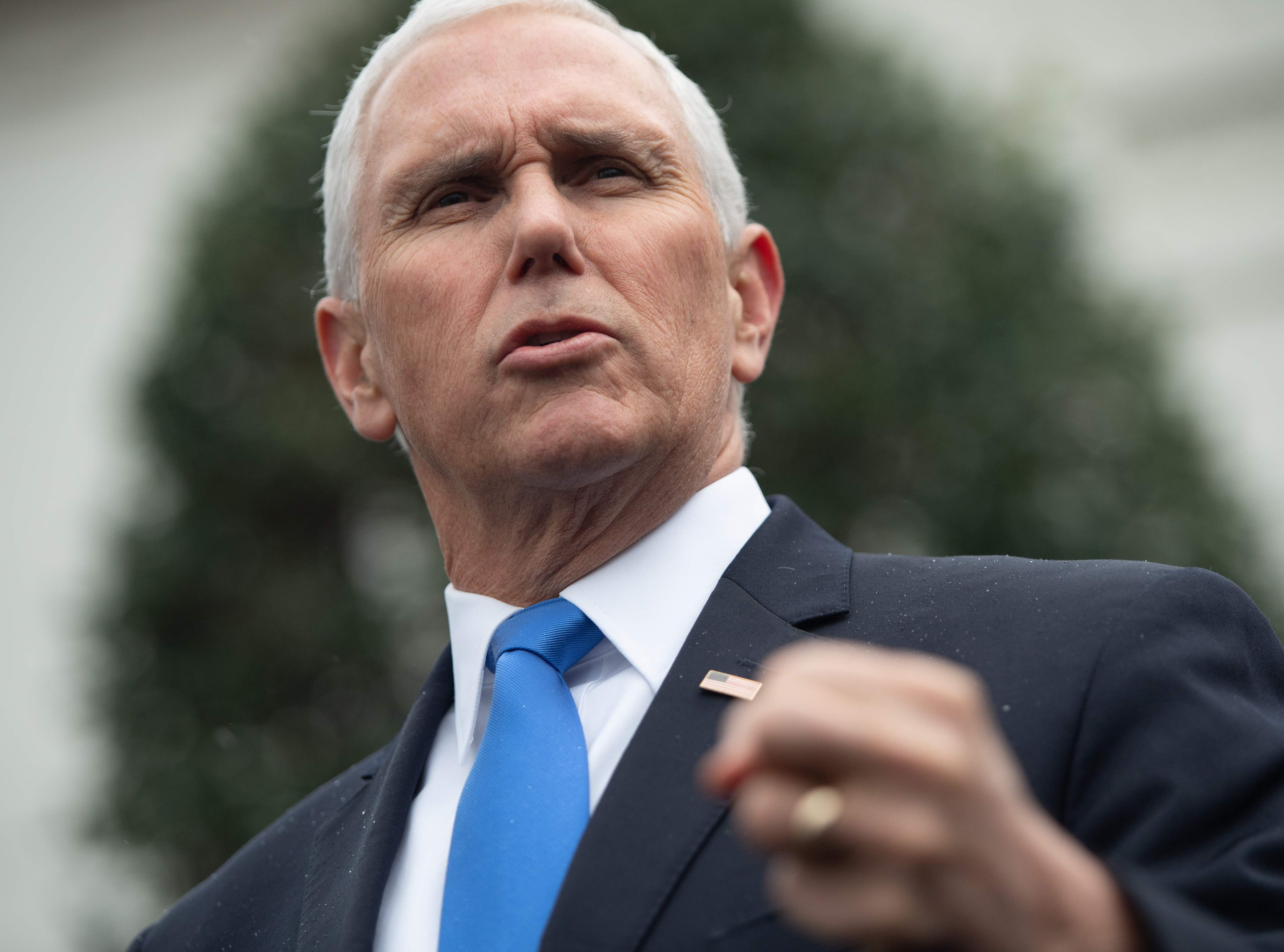 Mike Pence: Democrats refuse to compromise on border wall funding to end the shutdown