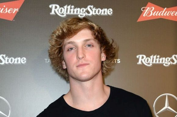 Logan Paul's YouTube channel has more than 18 million subscribers.