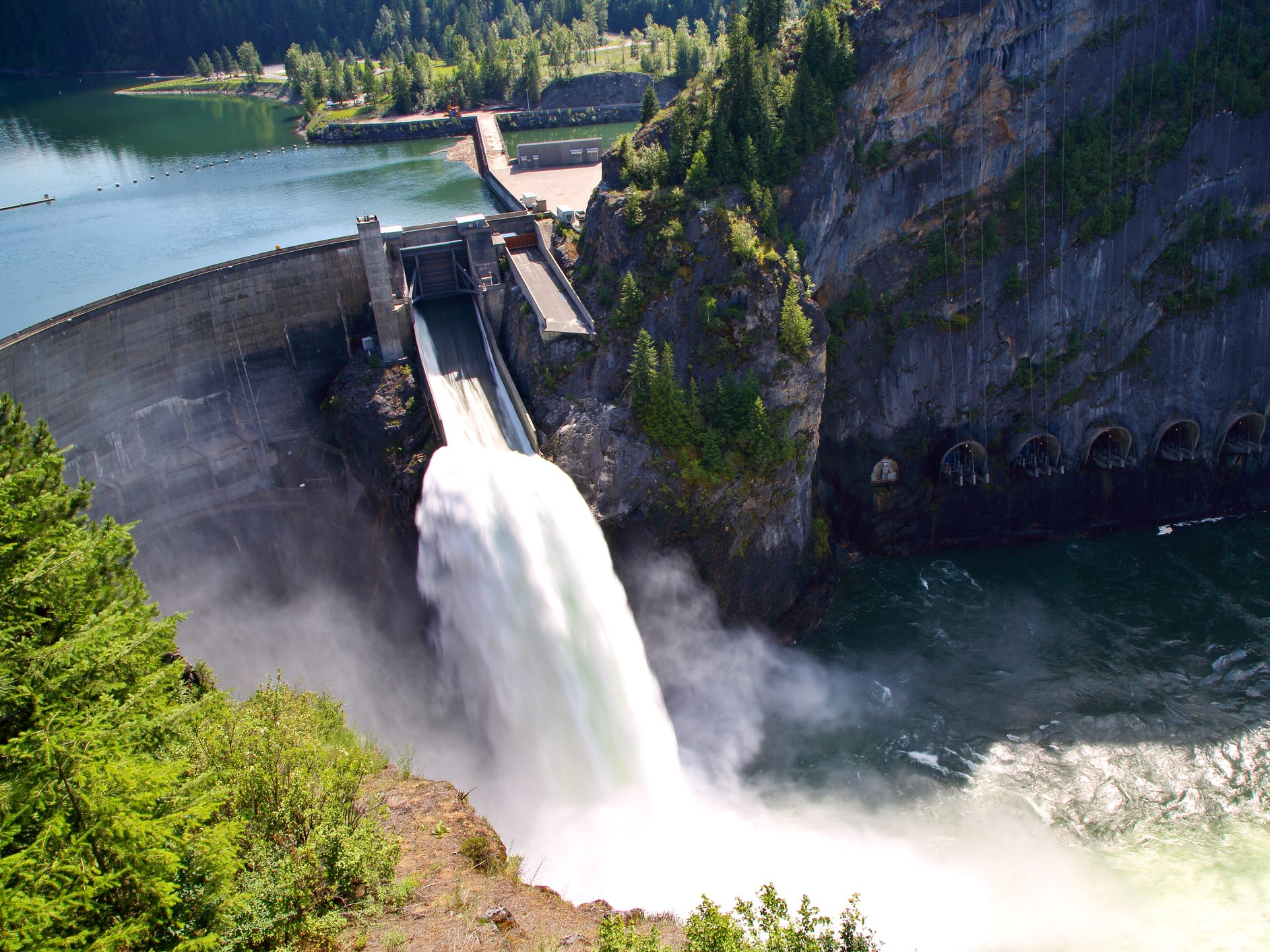 Boundary Dam in Washington.