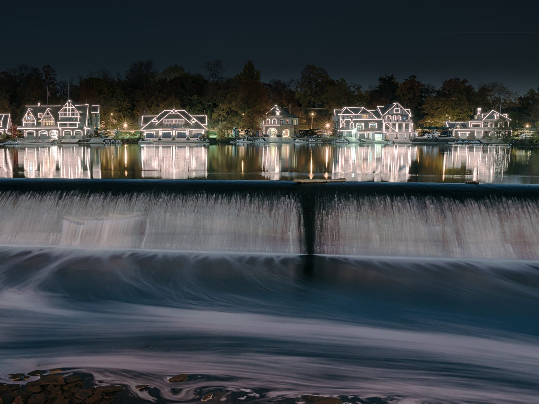 Fairmount Dam in Philadelphia.