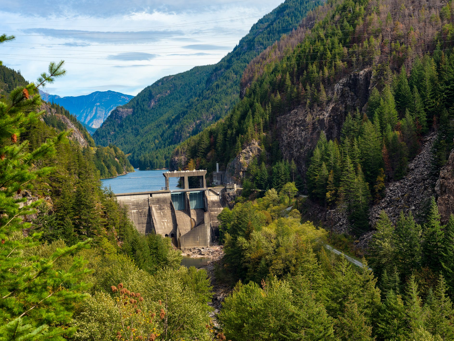 Gorge Dam in Washington.