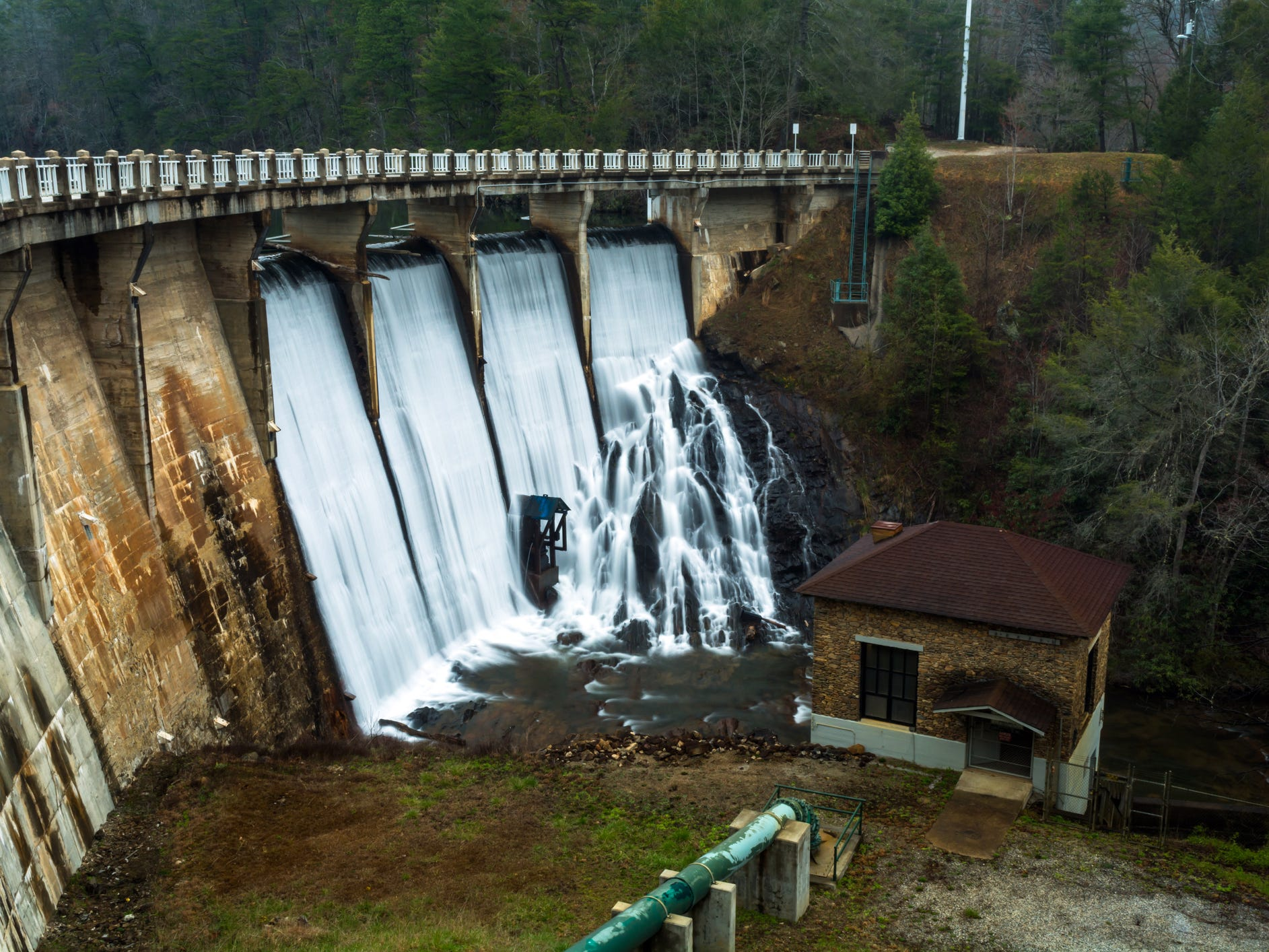 Tahoma Dam in North Carolina.