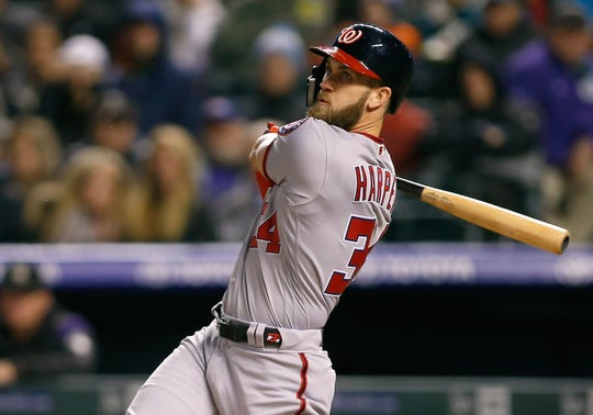Bryce Harper, who spent his entire career with the Washington Nationals, could end up with the Philadelphia Phillies.