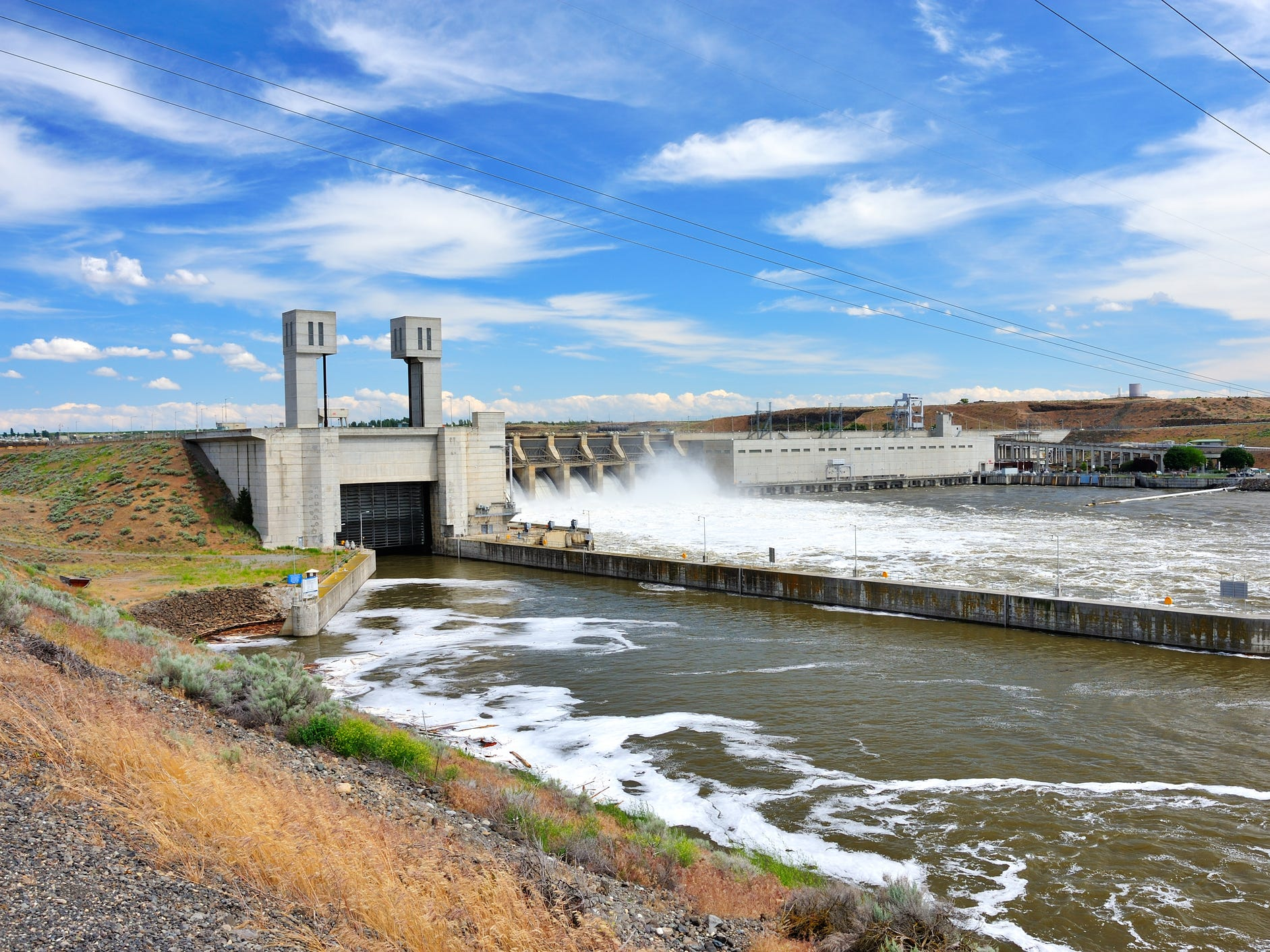 John Day Dam in Washington.