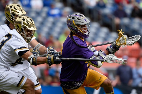 Lyle Thompson, shown in his college days, was subjected to racial taunts on Saturday in Philadelphia.