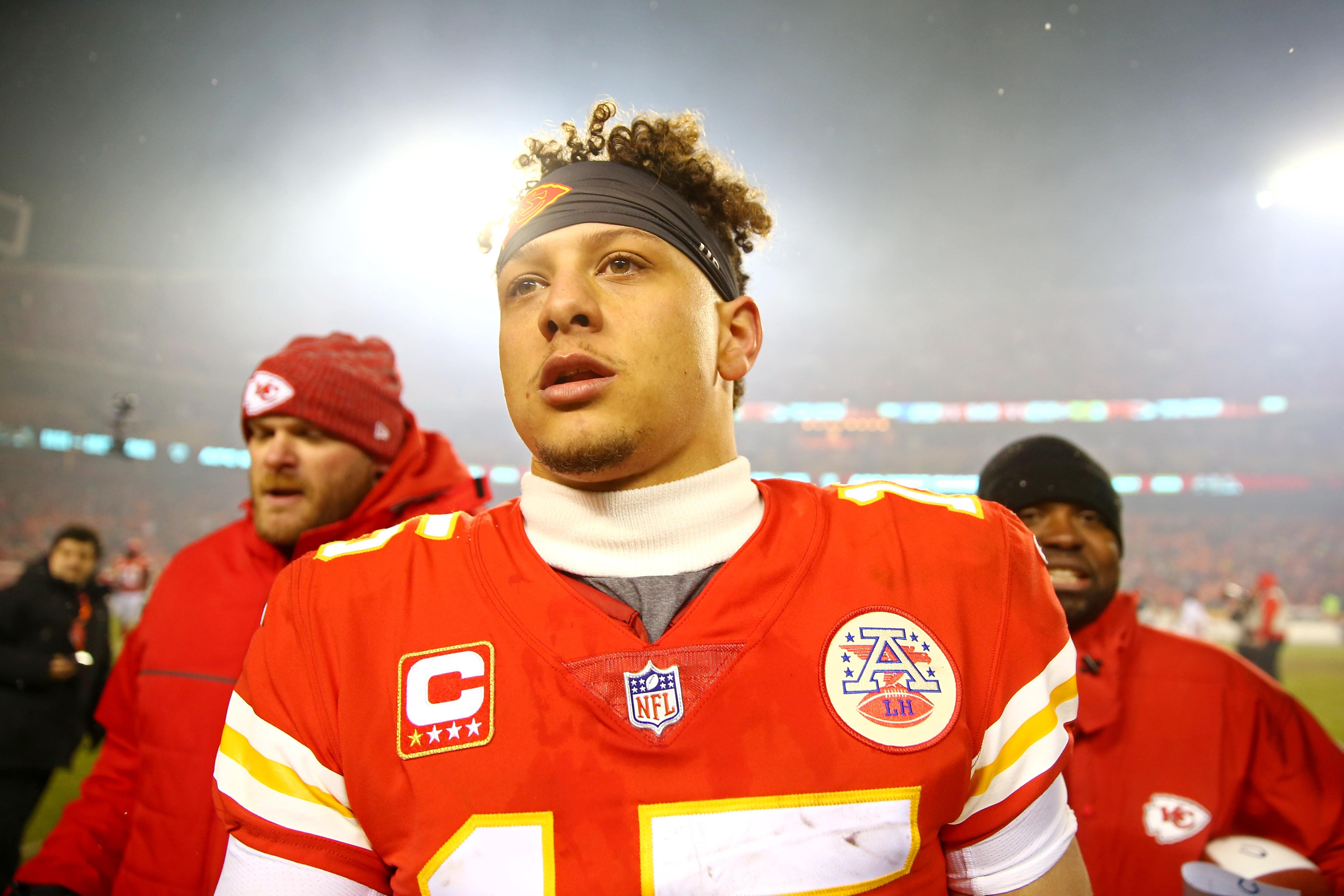 7f672882050 NFL playoffs  Patrick Mahomes the difference for Kansas City Chiefs