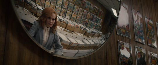 "Dr. Ellie Staple (Sarah Paulson) has a complicated relationship with comic books in ""Glass."""
