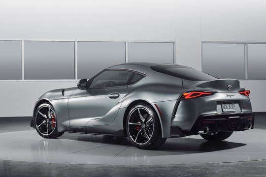 The 2020 Toyota Supra.