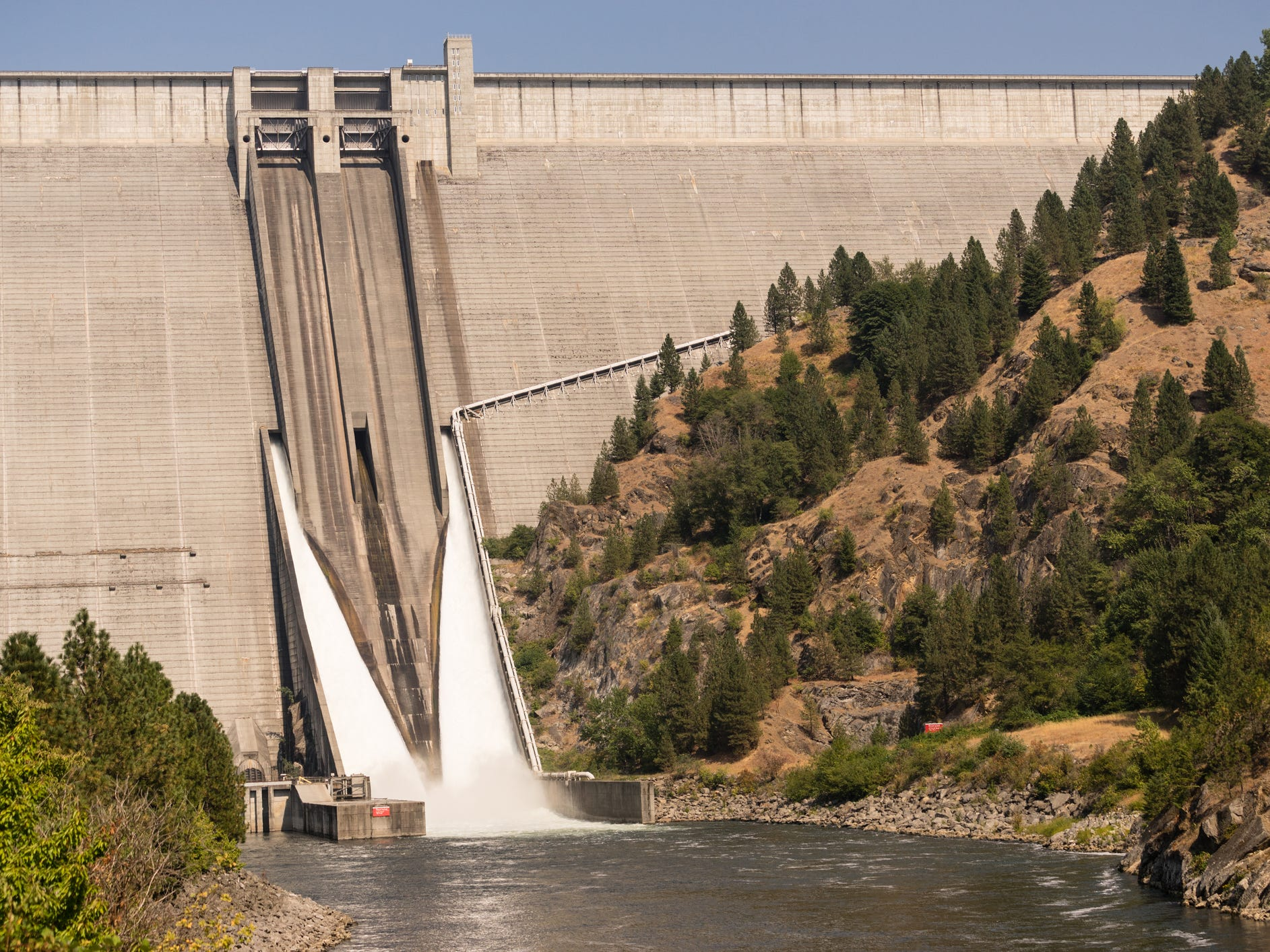 Dworshak Dam in Idaho.