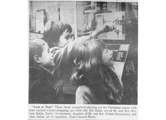 This photo appeared in The Post-Crescent in Nov. 22, 1962.