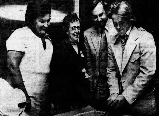 The photo ran in the June 27, 1972 edition of The Post-Crescent.