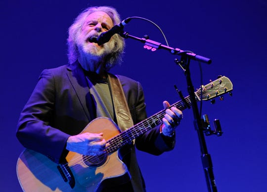 """In this April 23, 2014 file photo, musician Bob Weir performs at the premiere of """"The Other One: The Long, Strange Trip of Bob Weir"""" during the 2014 Tribeca Film Festival in New York."""