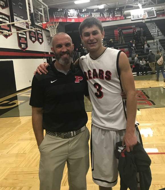 Senior Tanner Wike scored his 1,000th career point against East Henderson on Friday