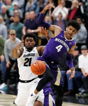 Matisse Thybulle had nine points and two blocked shots against Colorado on Saturday and is part of a Husky senior class who earned a two-game road sweep for the first time in their careers.