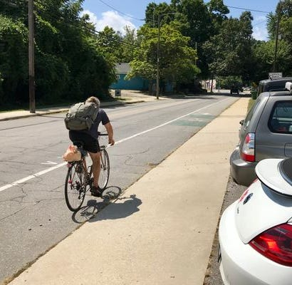 Answer Man: Do cyclists actually use bike lanes in Asheville? How often?