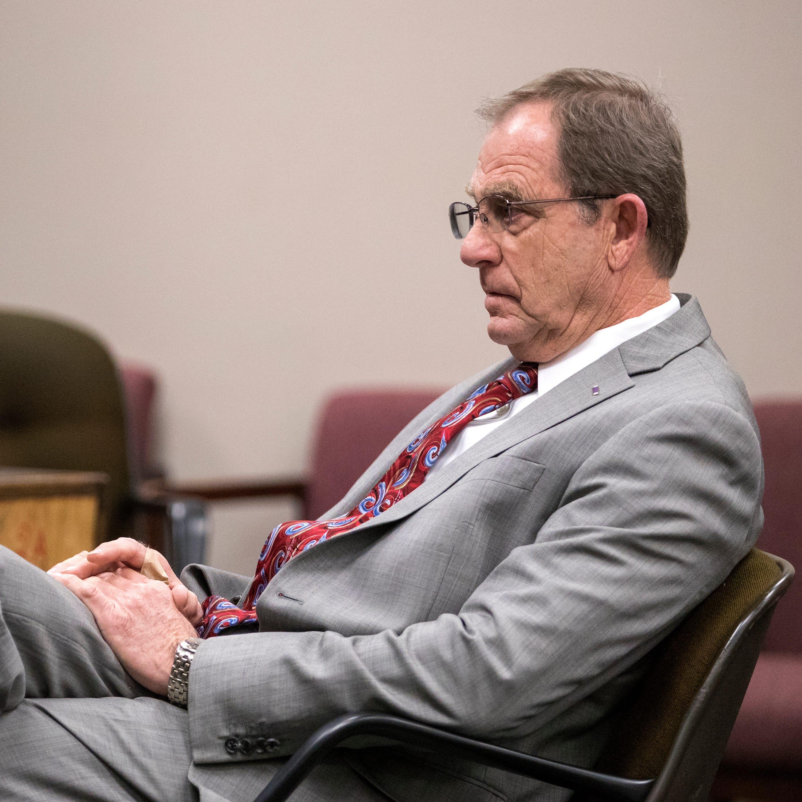 Ex-judge allowed to drink, keep guns ahead of resisting arrest trial