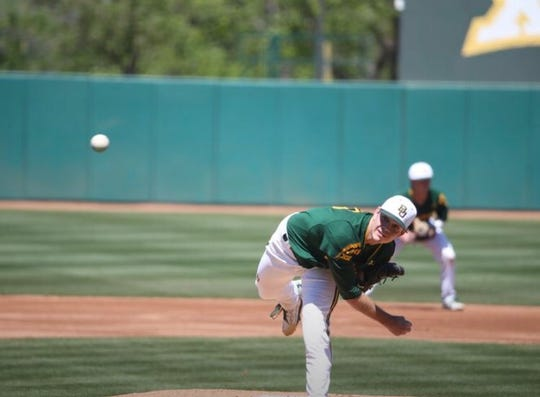 Calallen graduate Kyle Hill is in his last season pitching for the Baylor Bears.