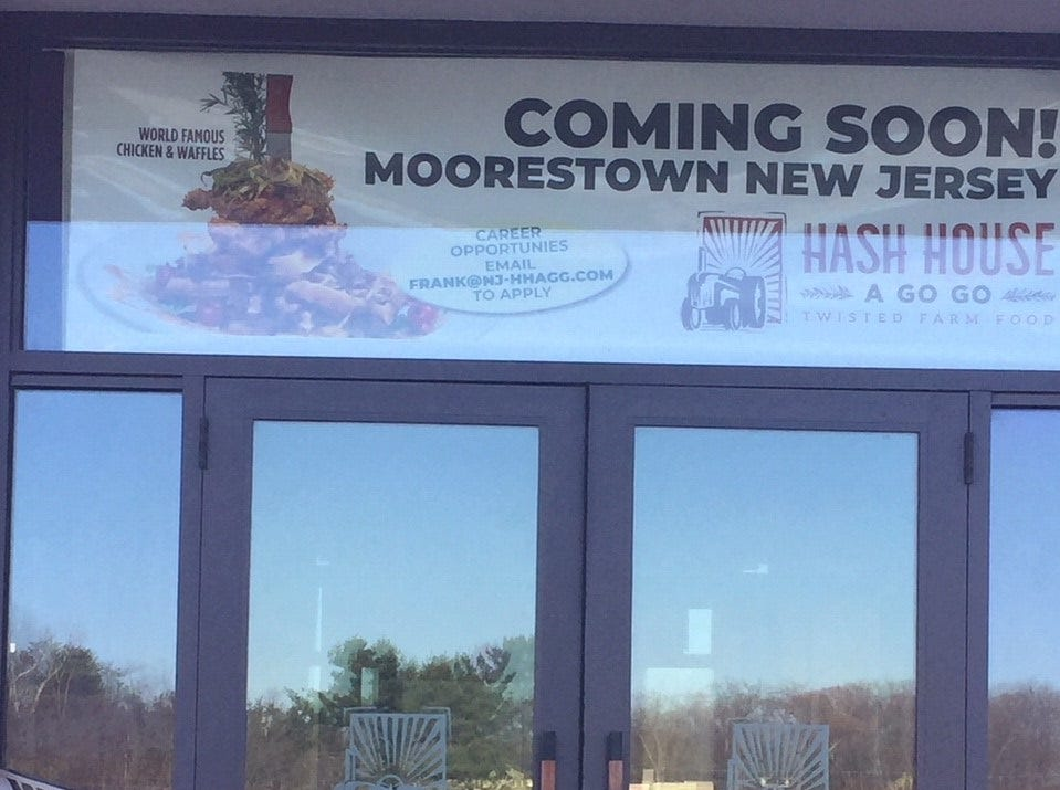 Hash House a Go Go opens Thursday at Moorestown Mall.
