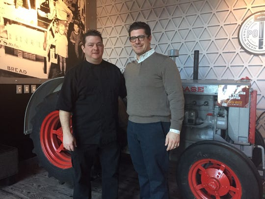 Executive Chef Matt Geraghty of Moorestown and Manager Partner Puri L. Garzone III of Philadelphia are ready to launch Hash House a Go Go at Moorestown Mall.