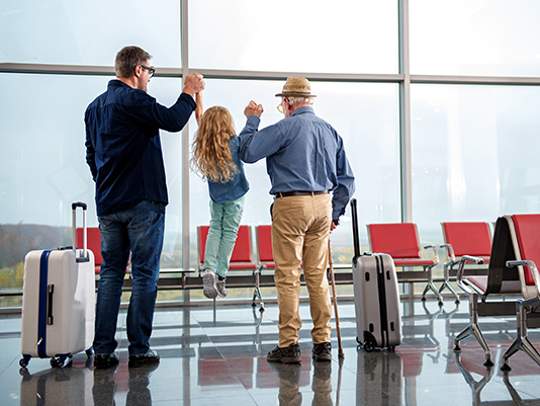 Consult with your parent's doctor and other care providers before taking them on a trip, and make sure they're on board with your plan.