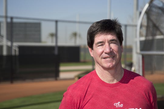Paul Daugherty at the Cincinnati Reds player development complex in Goodyear, Ariz., on Friday, March 4, 2016.