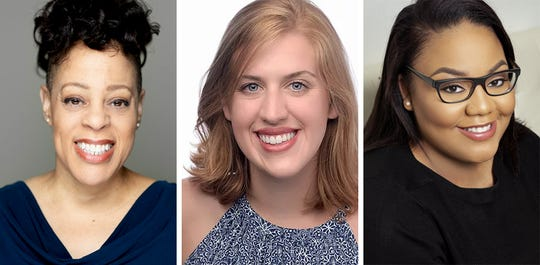 Brooke Leigh Davis, Emma Jordan and Alexandra West star alongside locals in Eve Ensler's THE VAGINA MONOLOGUES in the Roxy Regional Theatre's theotherspace, January 18 - February 2